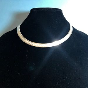 Jewelry - Sterling Silver Collar Necklace